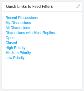 Feeds Quick Links