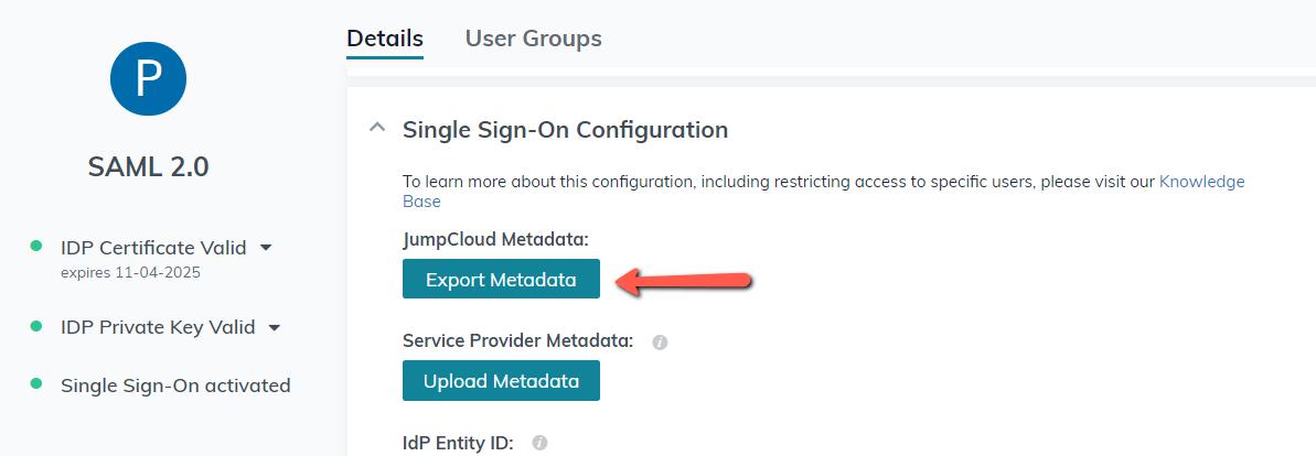 Configure SAML