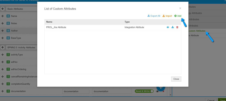 Add Custom Attributes