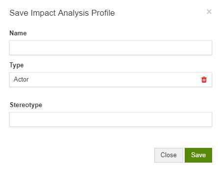Impact Analysis Profiles