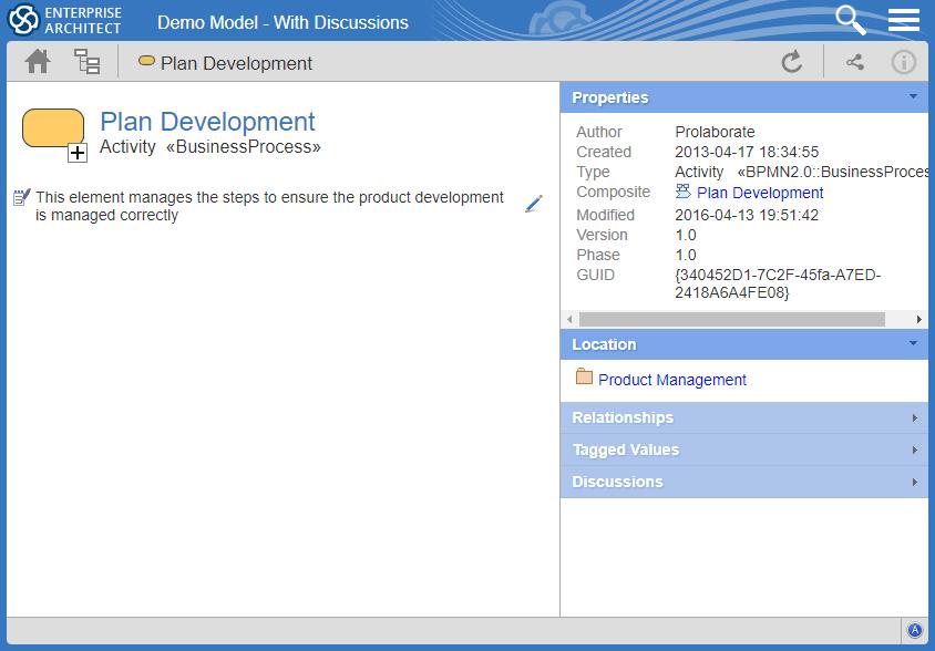 Development Activity Process