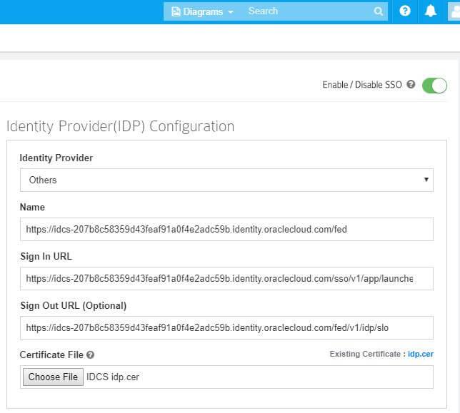 IDP Configuration