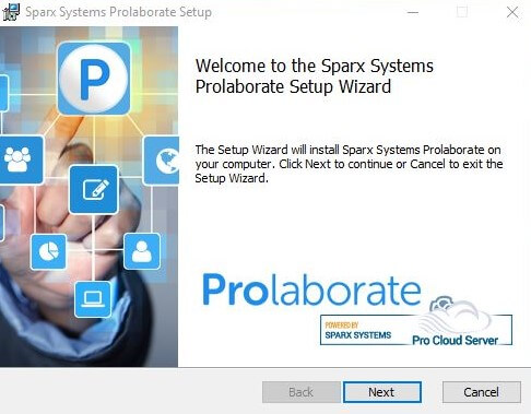 Install Prolaborate Next Step